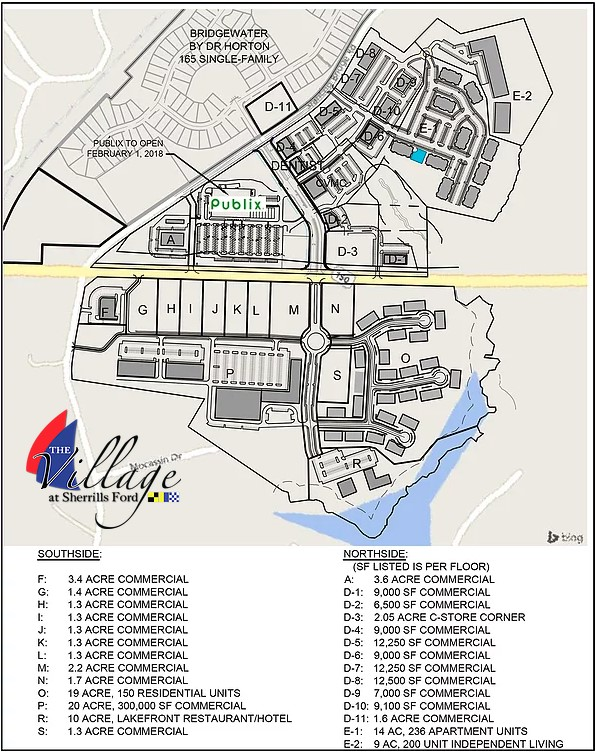 The-Village-at-Sherrills-Ford-Plan